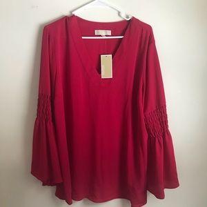 Michael Kors Bell sleeve blouse